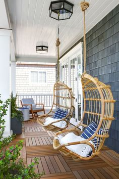 rattan outdoor swing chairs