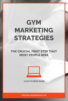 Coming up with innovative gym marketing strategies can be tricky, so in this article we'll share the very first thing you should do when developing yours. If you run a fitness studio or personal training business, then this is essential reading. Click to learn more.