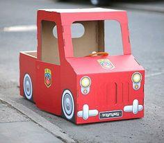disfraz casero coche - Busca de Google