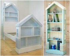 You will love this Dollhouse Bookcase DIY and we have included all the best ideas for you to try. You will love the Bedheads too.