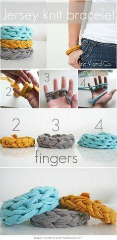 jersey-knit-bracelet