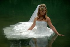 """""""Bride in Water"""" -- One of my most viewed photographs on flickr."""