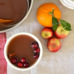 Recipe: Mulled Cranberry Apple Cider | Kitchn Milk Shakes, Wildly Delicious, Thanksgiving Drinks, Thanksgiving 2017, Hot Apple Cider, Apple Juice, Savarin, Non Alcoholic Drinks, Sodas