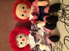 Raggety Ann and Andy loved her the most. But she seemed to be the one that always peed the bed. Annie dood it:)