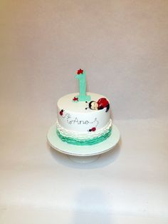 First birthday cake/ boys.