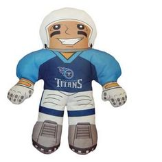 The Northwest Tennessee Titans NFL Rush Zone Player Pillow