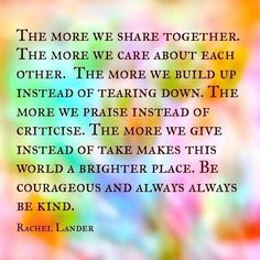 """The Mood Cards: """"The more we share the more we care #kindness #love #brighterworld via @themoodcards"""" : twitter"""