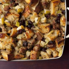 Sausage and Herb Stuffing By Ina Garten