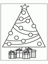 Coloriage Sapin de Noël sur Hugolescargot.com                                                                                                                                                                                 Plus