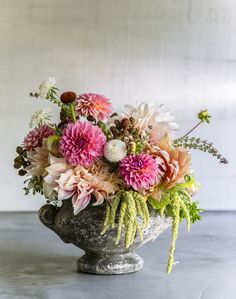 There were not nearly enough pages in our March issue to accommodate all of the bouquets floral guru, Christina Stemble of Farmgirl Flowers, put together from our cutting garden. We thought you mig. Cut Flower Garden, Flower Farm, Beautiful Flower Arrangements, Floral Arrangements, Beautiful Bouquets, Bloom, Cut Flowers, Bouquet Flowers, Vase Of Flowers