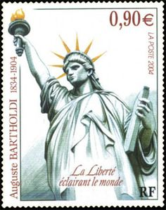 The Statue of Liberty was a gift to the people of the United States from the people of France. In 2004 France issued this stamp to honor the sculptor of the Statue of Liberty, Frederic Bartholdi, on the centenary of his death. Has France issued other stamps showing the Statue of Liberty?