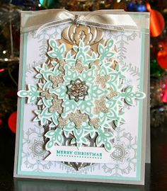 Stampin' Up! Christmas by Krystal's Cards and More: Festive Flurry