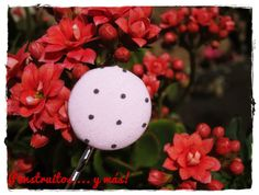 Pink Dots Bobby Pin