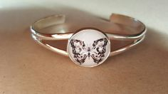 Bracelet cabochon en verre : Bracelet par bijoux-creabreizh