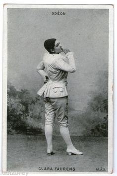 Clara Faurens Artiste Comedienne Theatre Odeon Role Pierrot Colombine