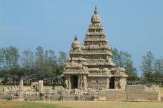 The Shore Temple, Mamallapuram. Image by Geetesh Bajaj / Getty Images.