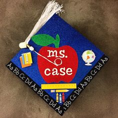 Education major graduation cap!