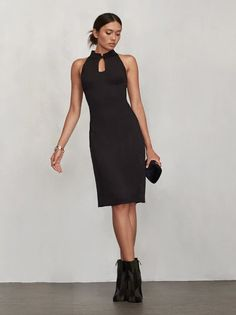 You'll always need a dress for that thing you forgot about and the Fei Dress will be there for you. https://www.thereformation.com/products/fei-dress-black?utm_source=pinterest&utm_medium=organic&utm_campaign=PinterestOwnedPins