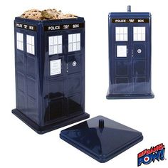 818c455b9d9 Would you believe a cookie tin in the shape of the TARDIS  If you