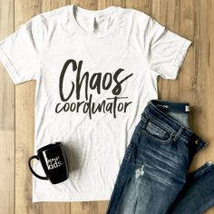 New Chaos Coordinator Women Short Sleeve Crewneck O Neck Tee T-Shirt Blouse Tops