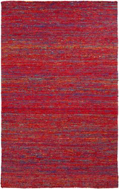 RugStudio presents Surya Kota Kot-7001 Poppy Woven Area Rug