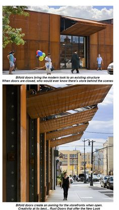 """""""The lighting reflects off the stainless steel which gives that cavity area a special glow,"""" related Darter. Lumen Architecture was the lighting designer on ..."""