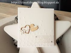 Ein Kärtchen zum z.B. Valentinstag mit dem Stempelset Love Sparkles und... mehr auch meinem Blog: http://claudisbastelblog.blogspot.de