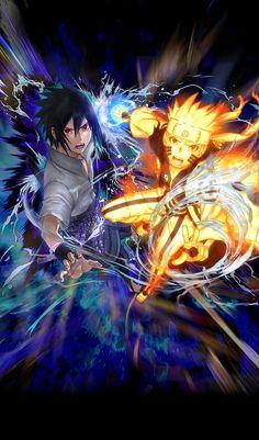 Naruto Dan Sasuke, Sasuke Uchiha Shippuden, Naruto Shippuden Sasuke, Anime Naruto, Kurama Susanoo, Fan Art Naruto, Naruto And Sasuke Wallpaper, Anime Akatsuki, Wallpaper Naruto Shippuden
