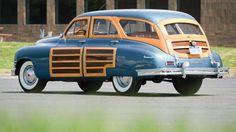 Rare 1950 Packard woody wagon to cross the block at Amelia Island