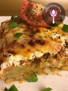 Bolognai rakott krumpli – Sylvia Gasztro Angyal Tasty, Yummy Food, Bologna, Mozzarella, Lasagna, Quiche, Favorite Recipes, Meals, Chicken