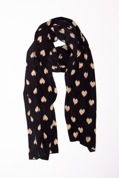 This is such a sweet Heart Scarf!