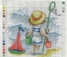 Point de croix -m@-Cross stitch