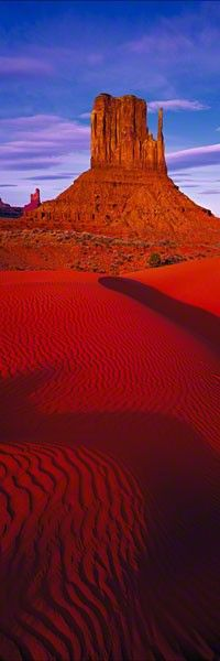 "Touch the Sky By Peter Lik ""the left mitten"" (stay at Golding's Lodge - the only place to stay inside Monument Valley - beautiful national park)"