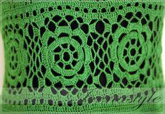 Crochet Dress custom made hand made crochet 100% by Irenastyle