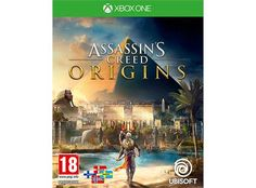 Assassins Creed Origins tilXbox Oneer en ny begynnelse! I en tid preget av storhet og intriger er oldtidens Egypt i ferd med å gå til grunne som følge av en knallhard maktkamp. Avdekk mørke hemmeligheter og glemte myter når du reiser tilbake til et historisk tidspunkt: assasiner-brorskapets tilblivelse.Et helt land å utforske: Seil nedover Nilen, avdekk pyramidenes mysterier, eller kjemp deg frem mot farlige oldtidsgrupper og ville udyr mens du utforsker dette en...