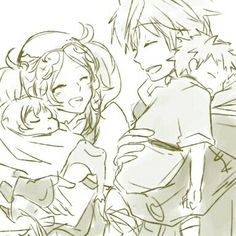 MU x Lissa (Little Owain and Morgan). This game inspires family feels in a way that few others do