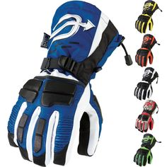 Arctiva Comp Insulated Mens Sled Snowboarding Snowmobile Gloves