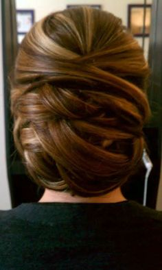 No curls...just weaved in and out bun. #Hair #Beauty #Hairstyle #Style Find hair products & more at Beauty.com