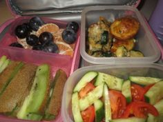 Daycare lunch ideas for a 12 month old - perfect!