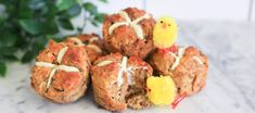 Low Carb Hot Cross Buns | The Protein Bread Co. : The Protein Bread Co.
