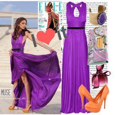 Purple and orange!!!!!