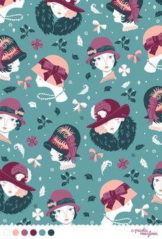 Vintage Hats by Paula McGloin @Paula manc manc manc McGloin www.paulamcgloin.com