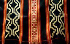Poncho de cacique mapuche