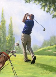 Disc golf putting is difficult to get better at. Attempt these 5 golf putting drills you can do indoors in your home to enhance your putting stroke an. Godzilla Wallpaper, George Carlin, Golf Humor, Funny Golf, Tiger Woods, Disc Golf, Nike Janoski, Golf Painting, Painting Art