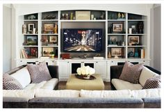 everything is perfect for the basement family room.