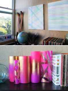 Tulle Time: How to Use Tulle to Make Gorgeous Vases and Wall Art | Brit + Co.