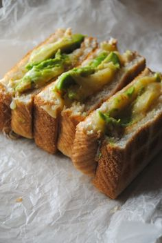 grilled cheese avocado. Looks fantastic! I'm trying this tonight because avocados are like 2 for a dolla