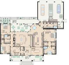 Split-Bedroom Comfort - 8426JH | Architectural Designs - House Plans