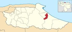 MIRANDA, municipio Andrés Bello. El Municipio Andrés Bello3 es uno de los 21 municipios del Estado Miranda en la parte este costera, en el centro norte de Venezuela, su capital es la ciudad de San José de Barlovento, posee 2 parroquias, Cumbo y San José de Barlovento.