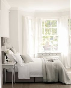 Bedroom Cream And White Bedroom  Master Bedroom Simple U0026 Clean Grey U0026 White  Guestroom ? Bright Accents In A White Bedroom